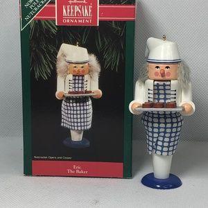 "Hallmark keepsake ornament ""Eric The Baker"" 1992"